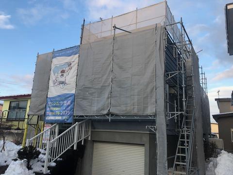 苫小牧 塗装 ペンキ 外壁 屋根 塗装 ペンキ サビ 住宅塗装1