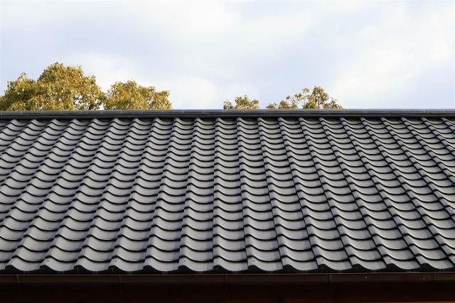 写真:瓦屋根