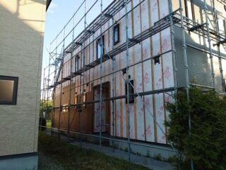 6 住宅リフォーム 追分町 住宅屋根塗装工事 外壁塗装  雨漏り 防水工事 シーリング工事 コーキング工事 苫小牧塗装業者 塗装業者苫小牧市