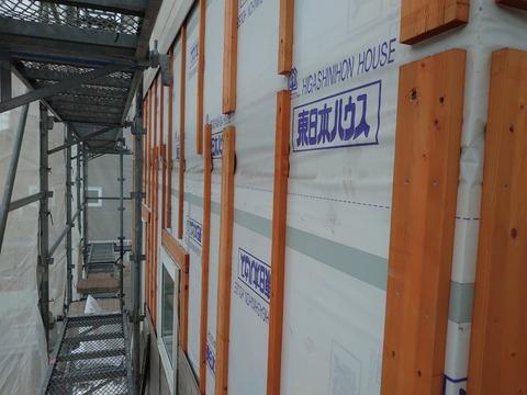 6 北海道 雨漏り 塗装工事 住宅塗装 外壁塗装 屋根塗装工事 けれん作業 高圧洗浄 苫小牧市塗装業者 北海道塗装業者